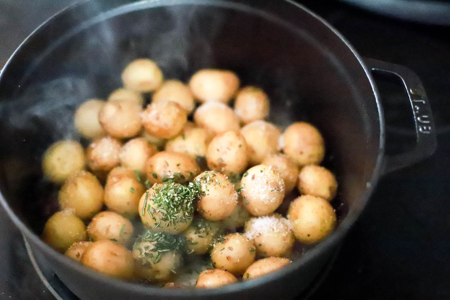 how to cook baby potatoes on the stove