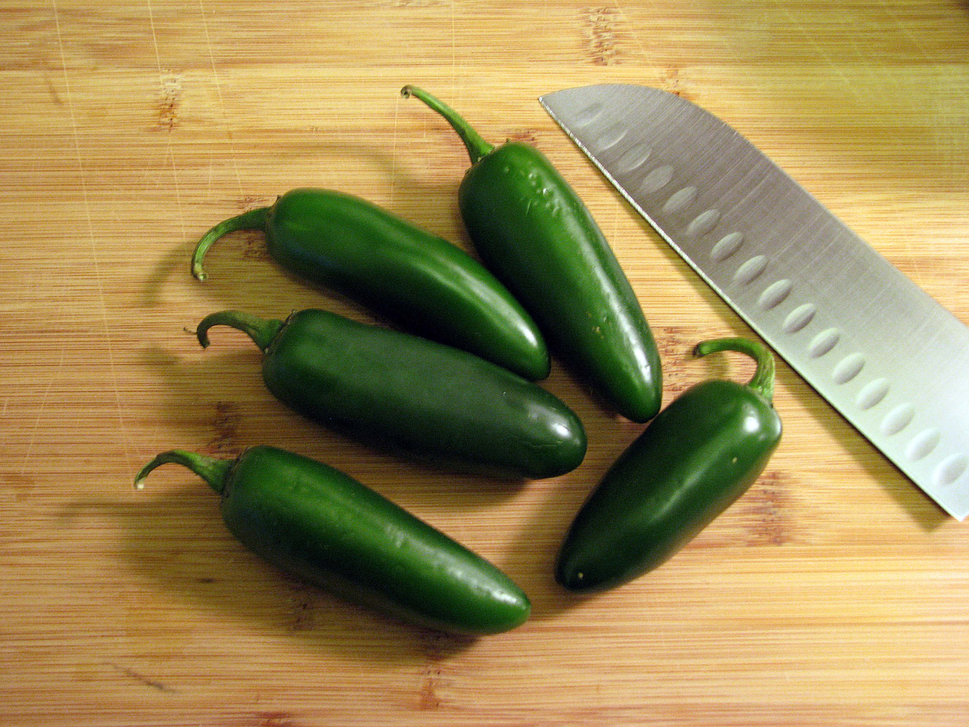 Jalapenos to char