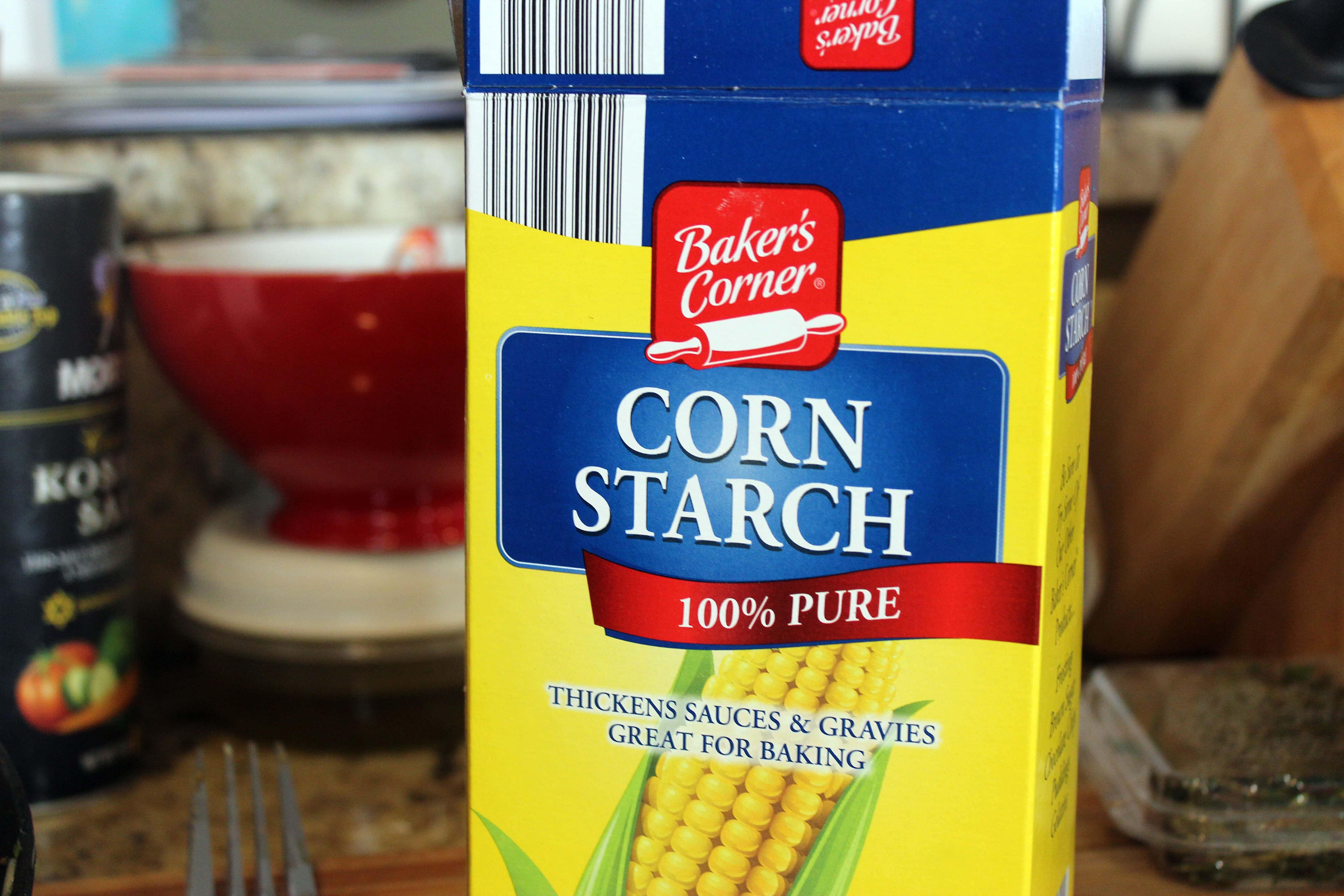 Grab cornstarch