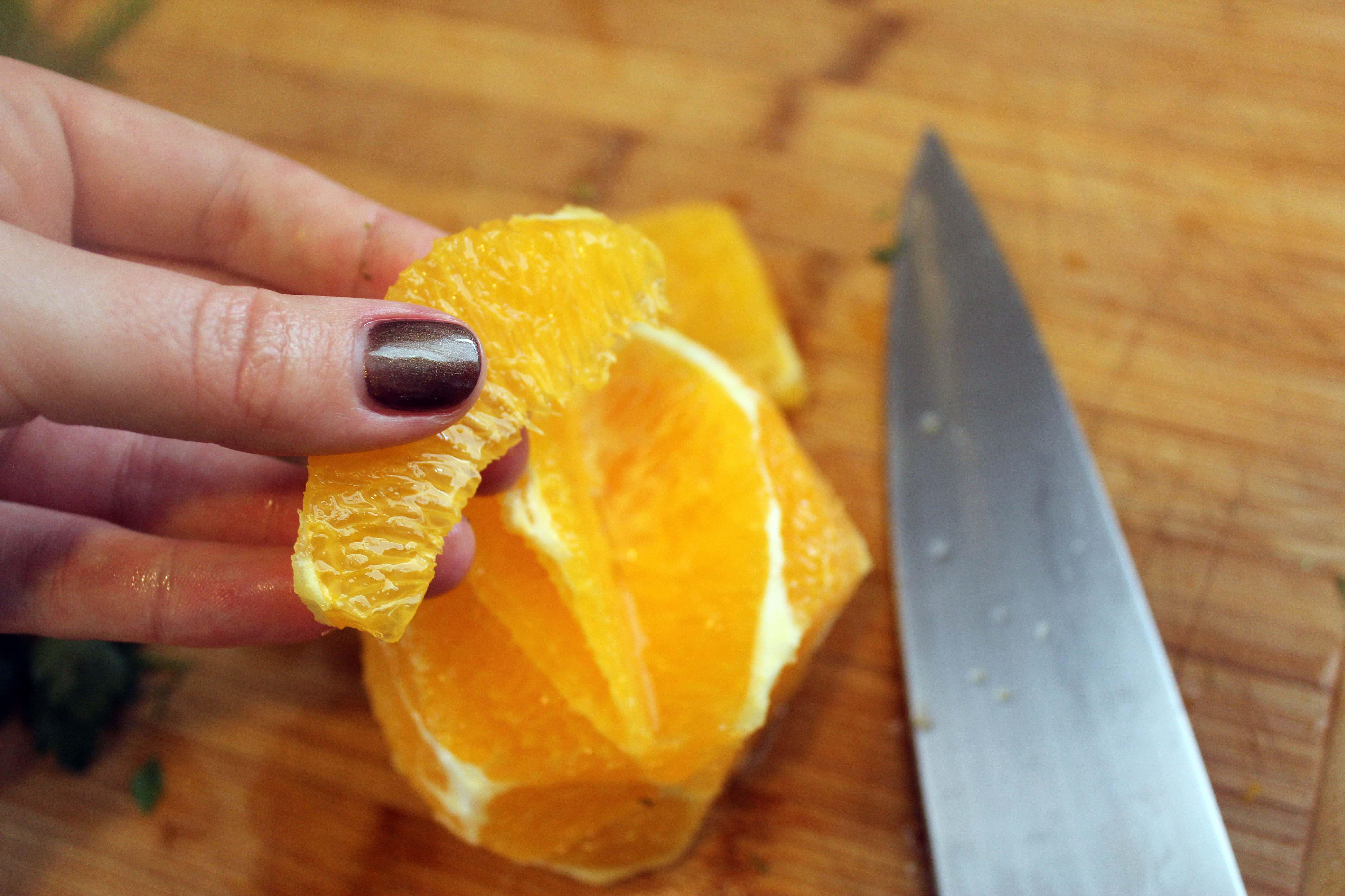 Segment of orange