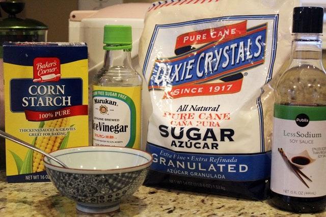 Slurry ingredients