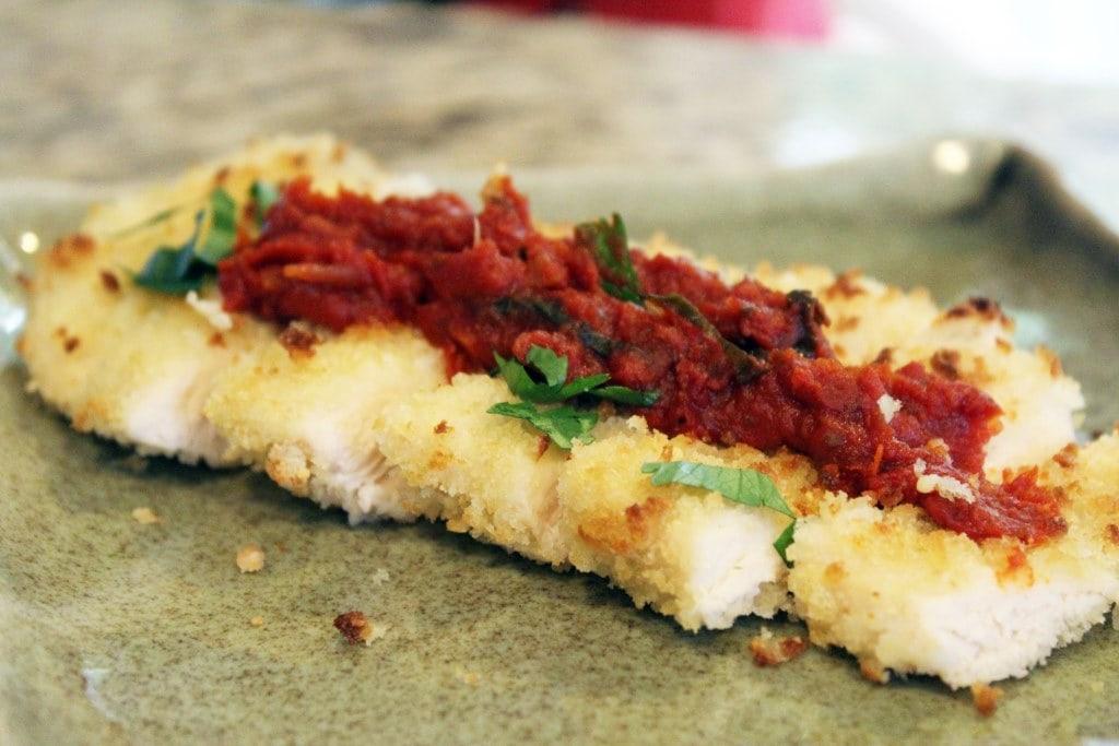 Slice and serve with marinara