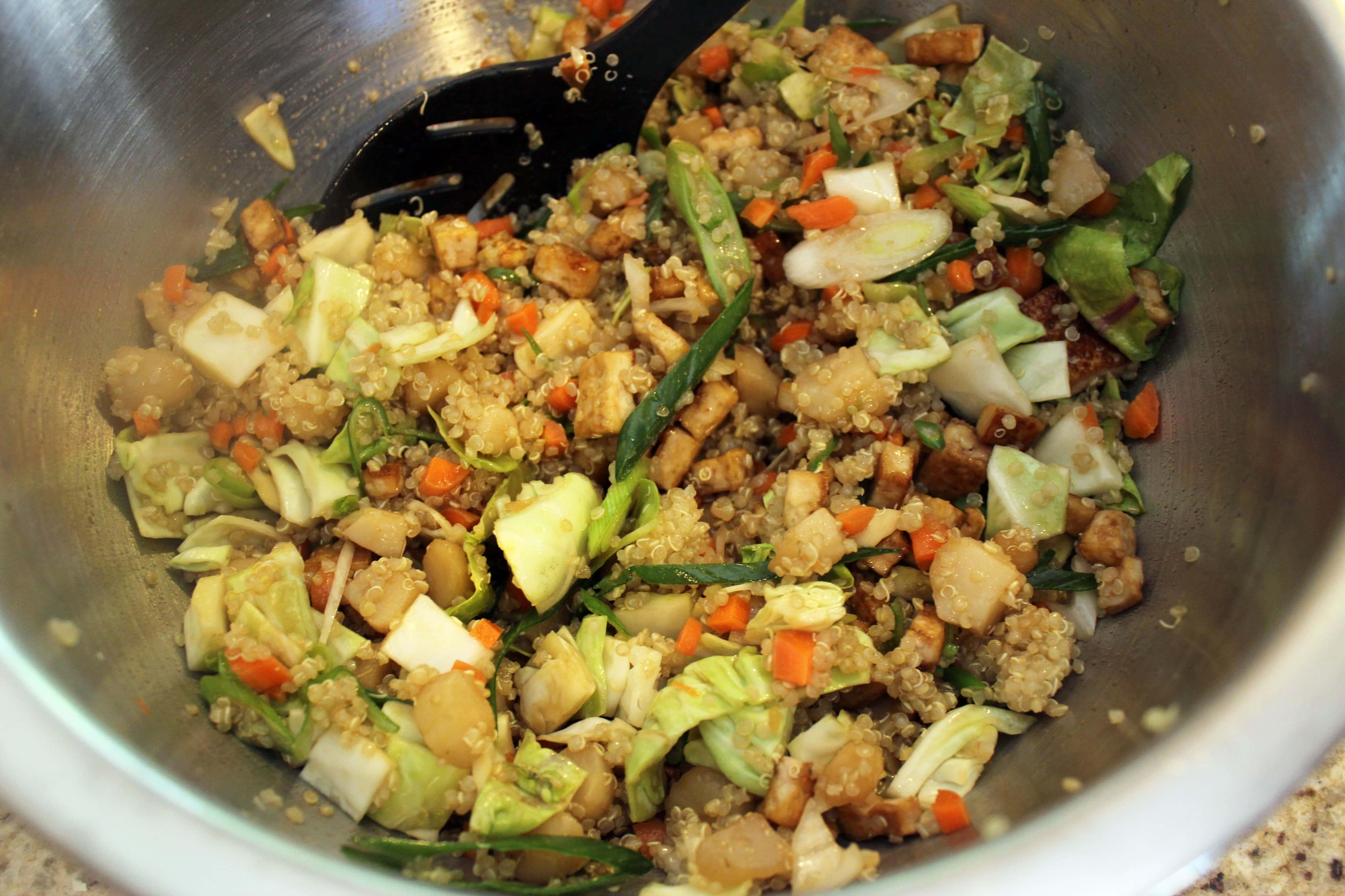 Stir all ingredients together