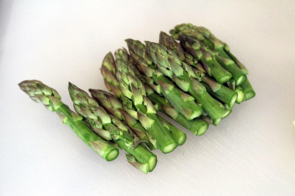 Asparagus tops