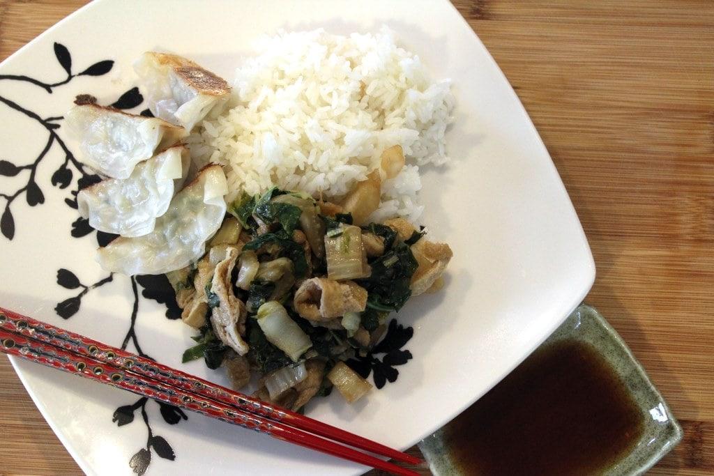 Full Japanese dinner