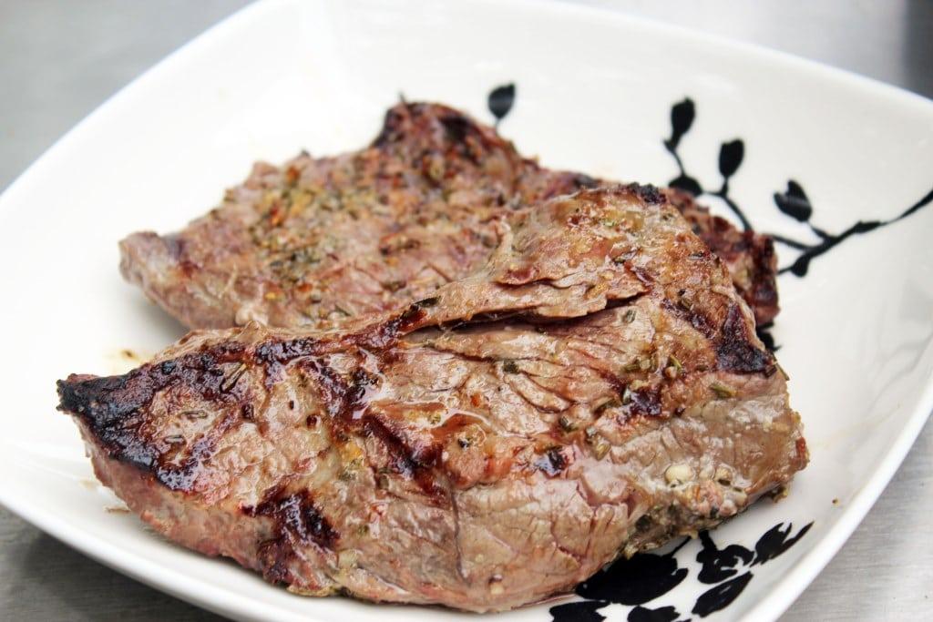 Let steak rest after grilling