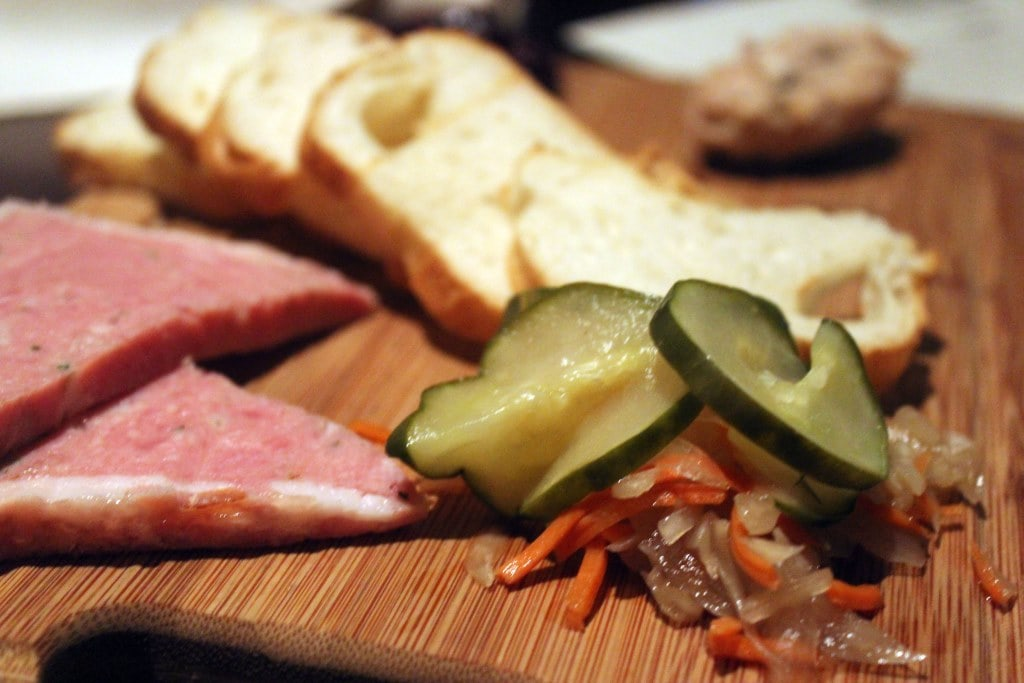 Pate and Pickles
