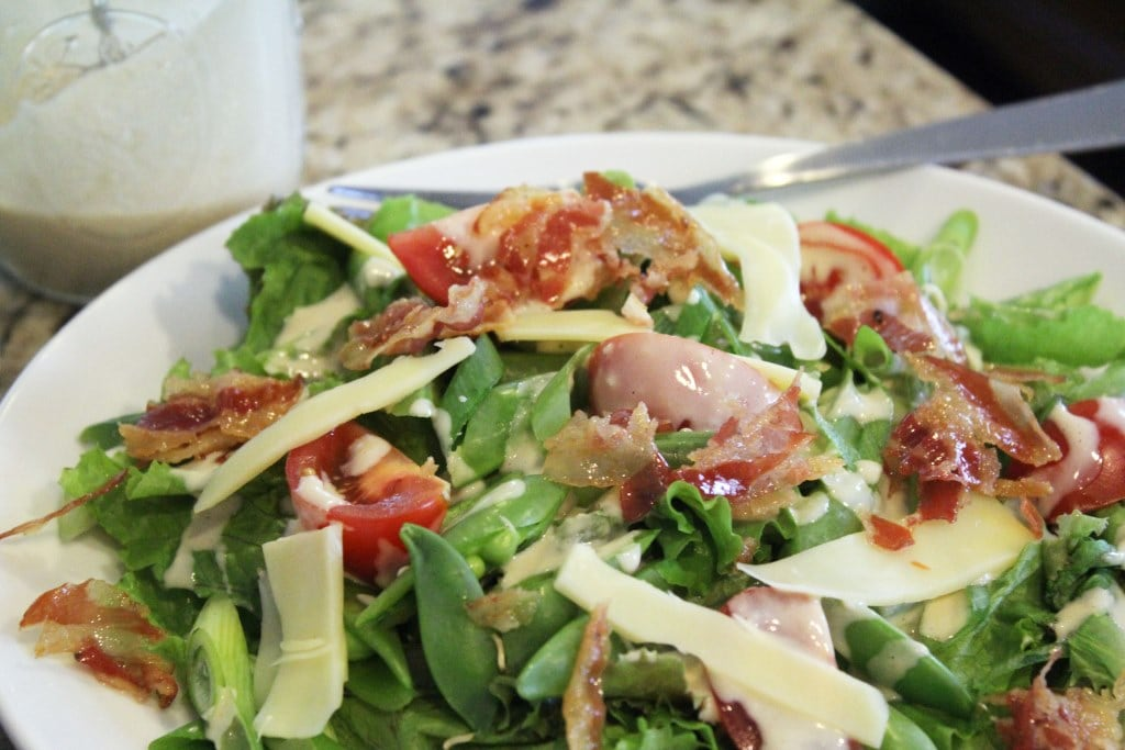 Crispy Pancetta Salad