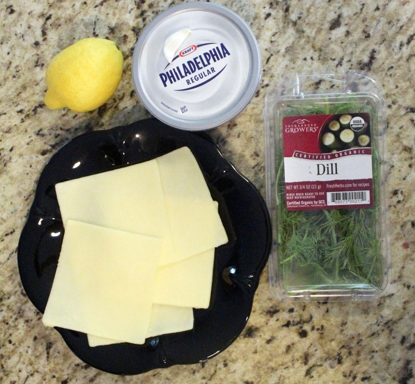 Ingredients for cheeseball