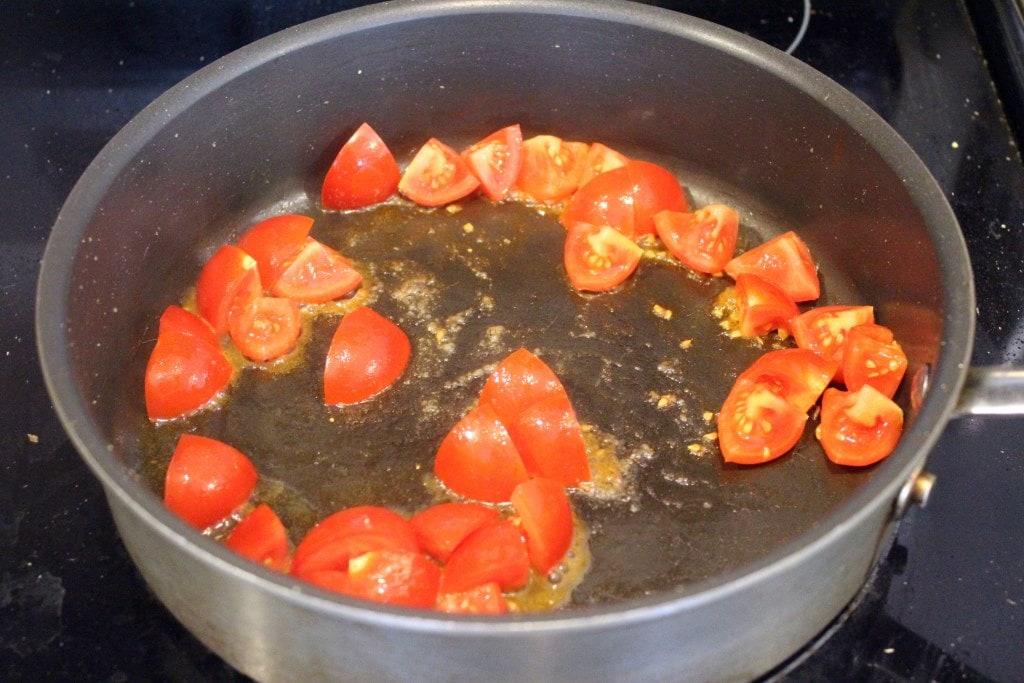 Start tomatoes to soften