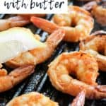 Firecracker Grilled Shrimp Pin Graphic with Text