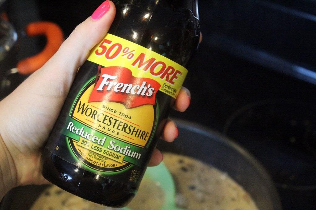 Optional Worcestershire sauce