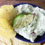 Sour Cream Lime Guacamole