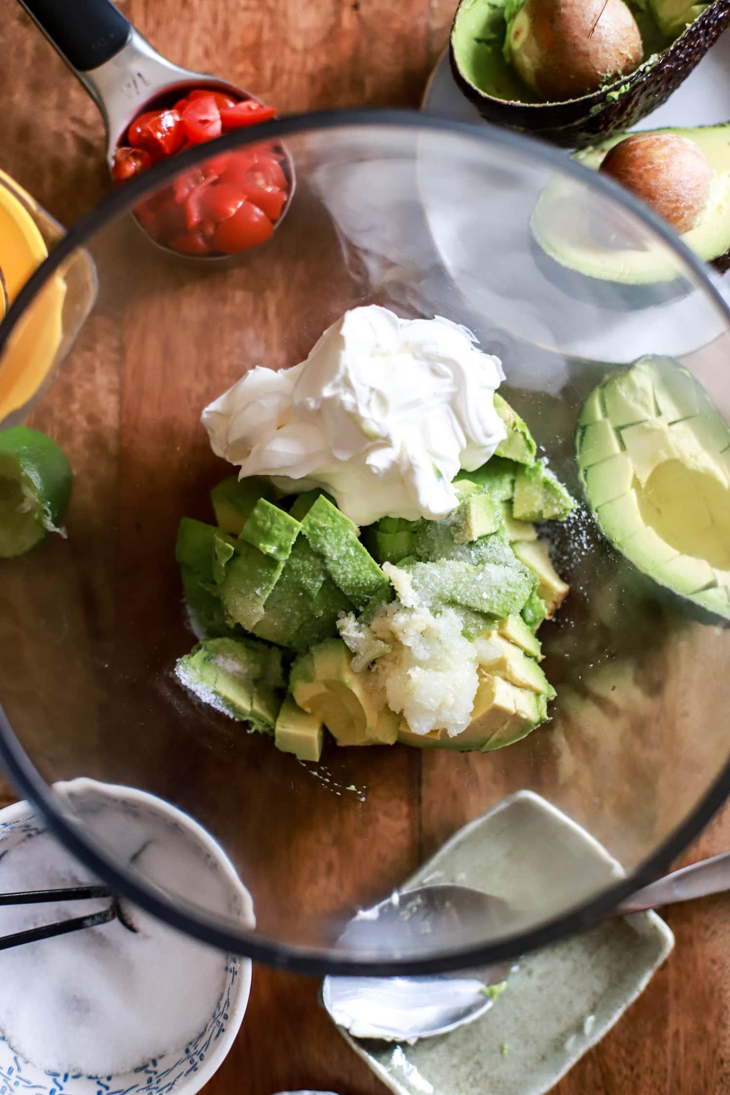 Sour Cream Guacamole Recipe