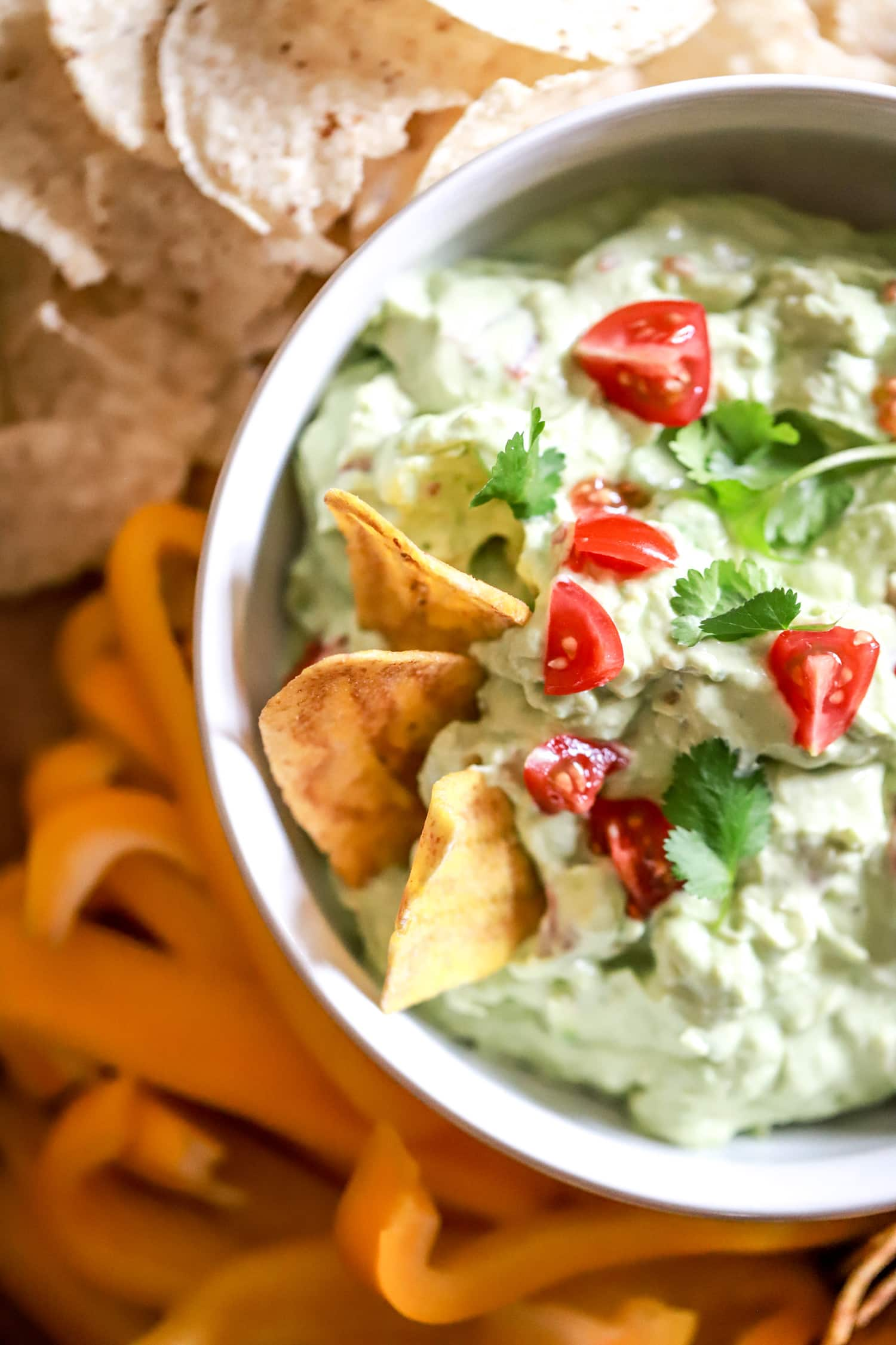 plantain chips for guacamole