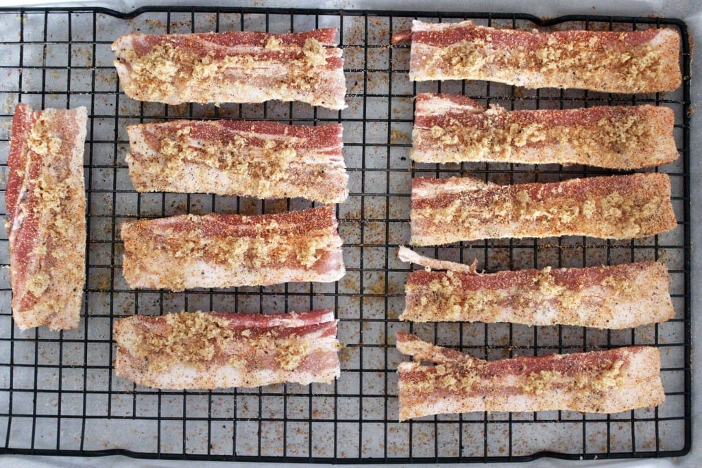 Spicy Candied Bacon recipe