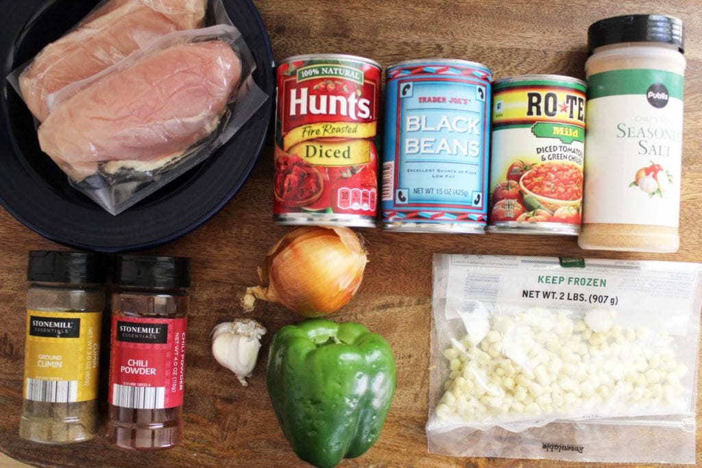 mexican chicken chili ingredients
