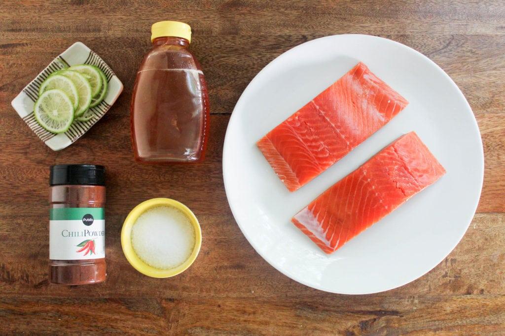 chili lime salmon ingredients