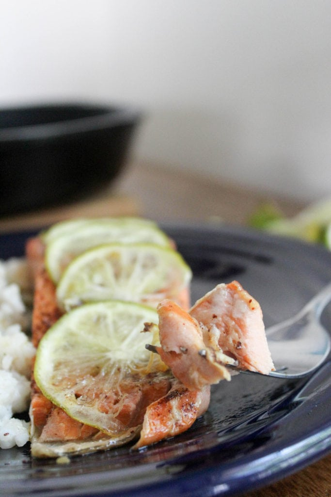 honey lime salmon recipe