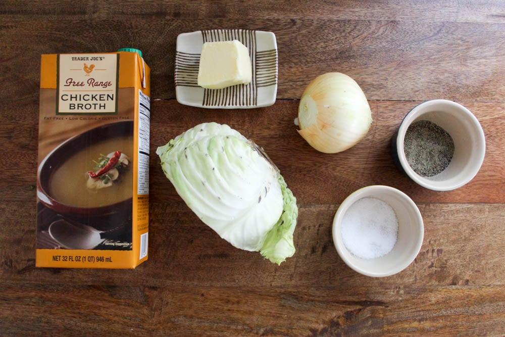 stewed cabbage ingredients