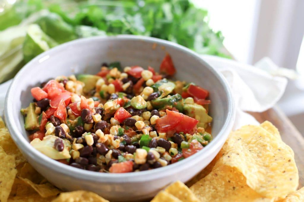 gluten free black bean salad