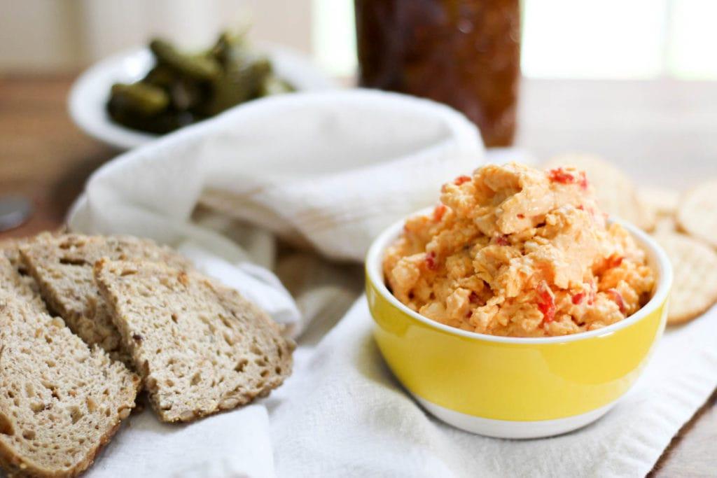 bread and old fashioned pimento cheese recipe