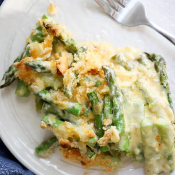 old fashioned asparagus casserole