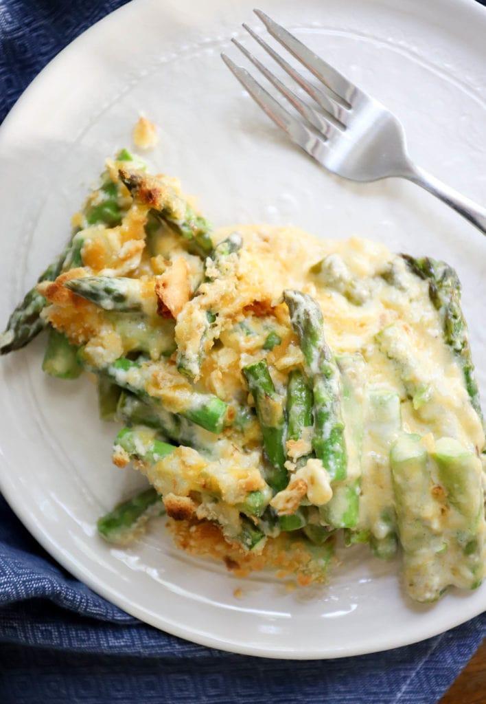 old fashioned asparagus casserole