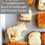 How to make the best ever cheese toast in the oven recipe from funnyloveblog.com
