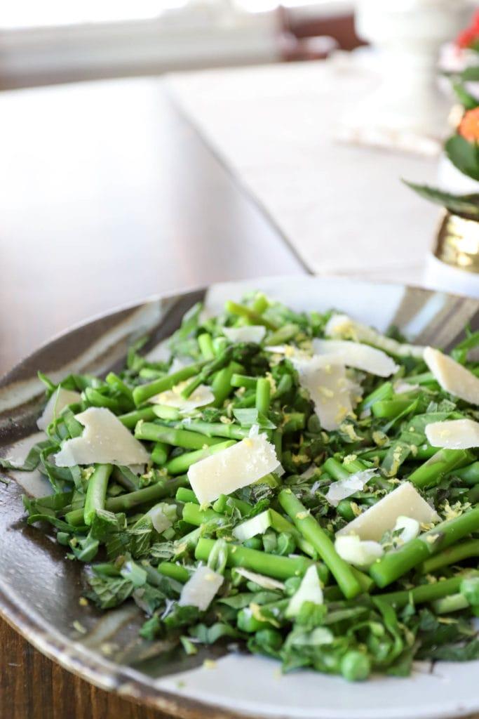 asparagus salad recipe with parmesan