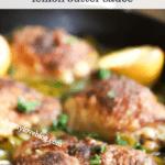 Chicken Thighs with Garlic Butter Sauce