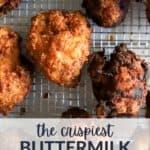 Easy Buttermilk Fried Chicken
