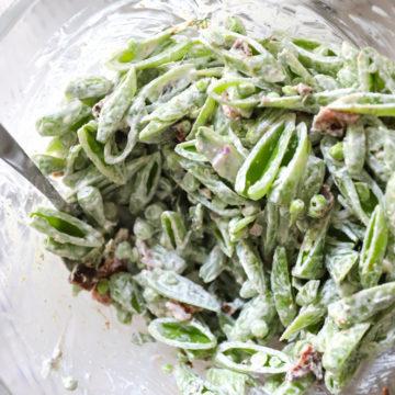 Sugar Snap Pea Salad Recipe Southern and Gluten Free