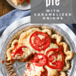 How to make Ultimate Tomato Pie recipe by funnyloveblog.com