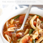 Beef Minestrone Soup Recipe