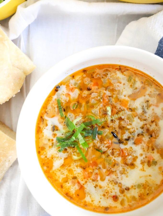 sausage soup italian