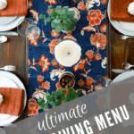 Ultimate Thanksgiving Menu Plan