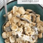 Best Vegetarian Mushroom Pasta Recipe from funnyloveblog.com