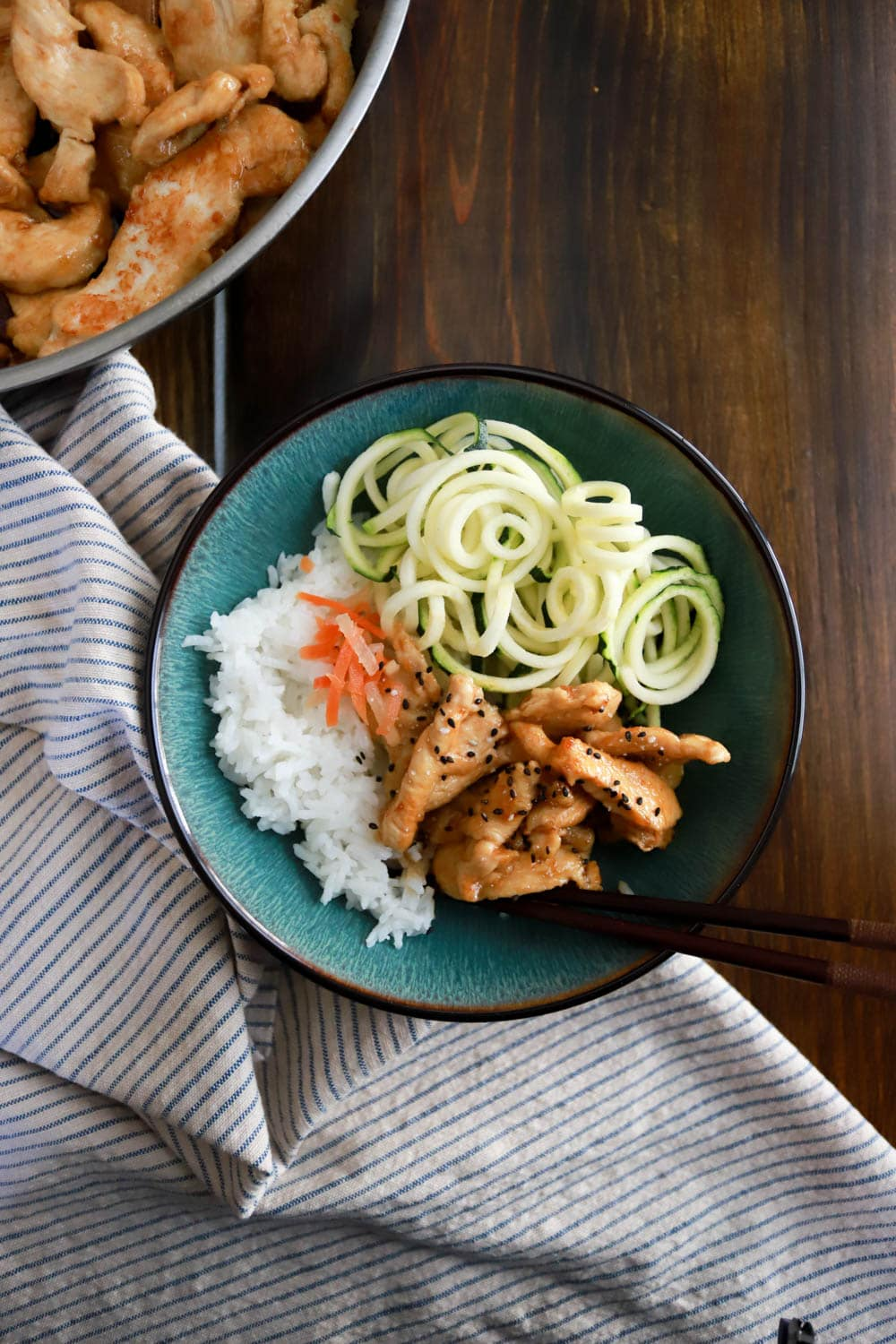 Weeknight Korean Rice Bowls are simple to make and have tons of flavor in just half an hour.