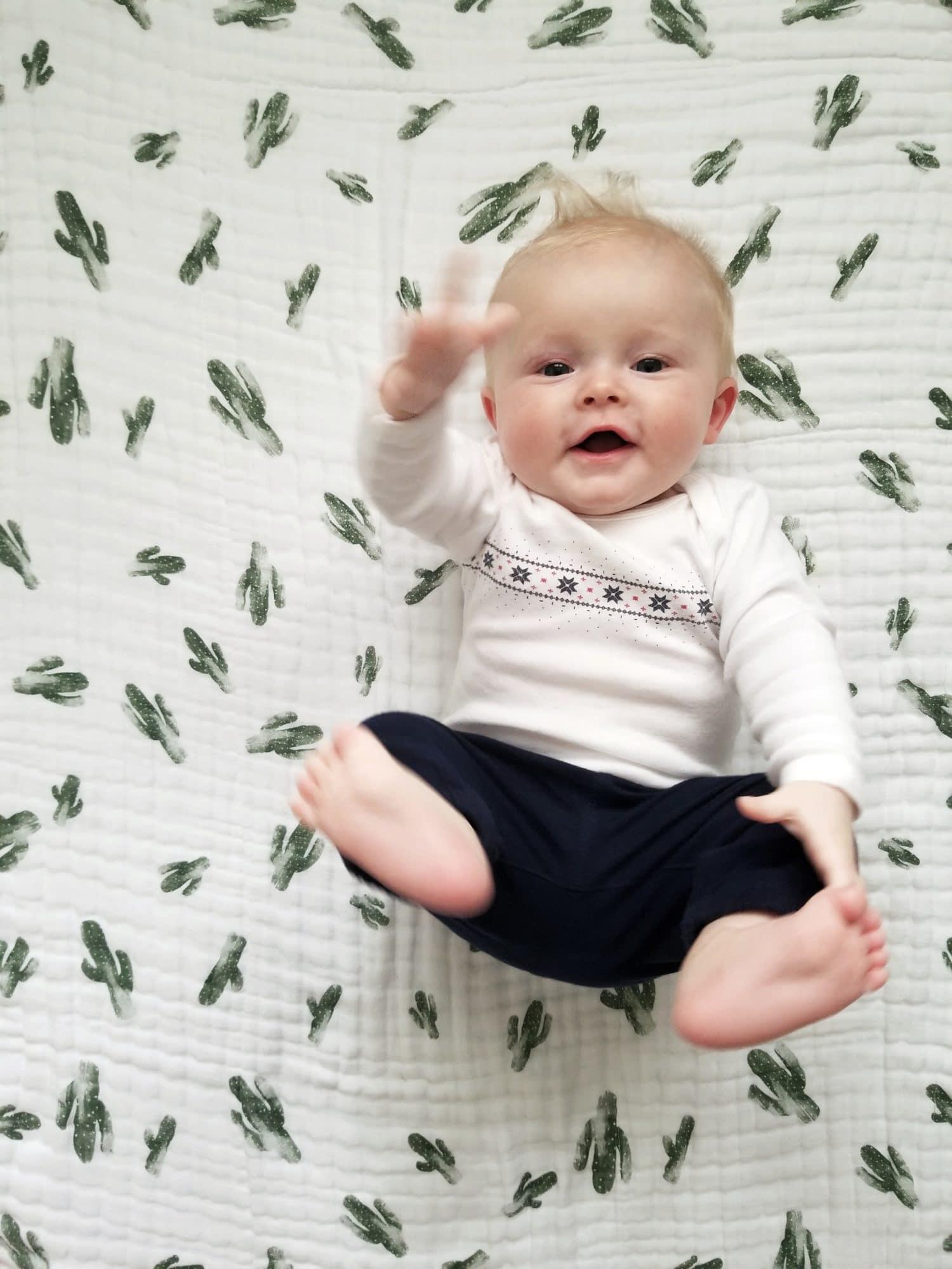 Six month old baby development and milestones. funnyloveblog.com