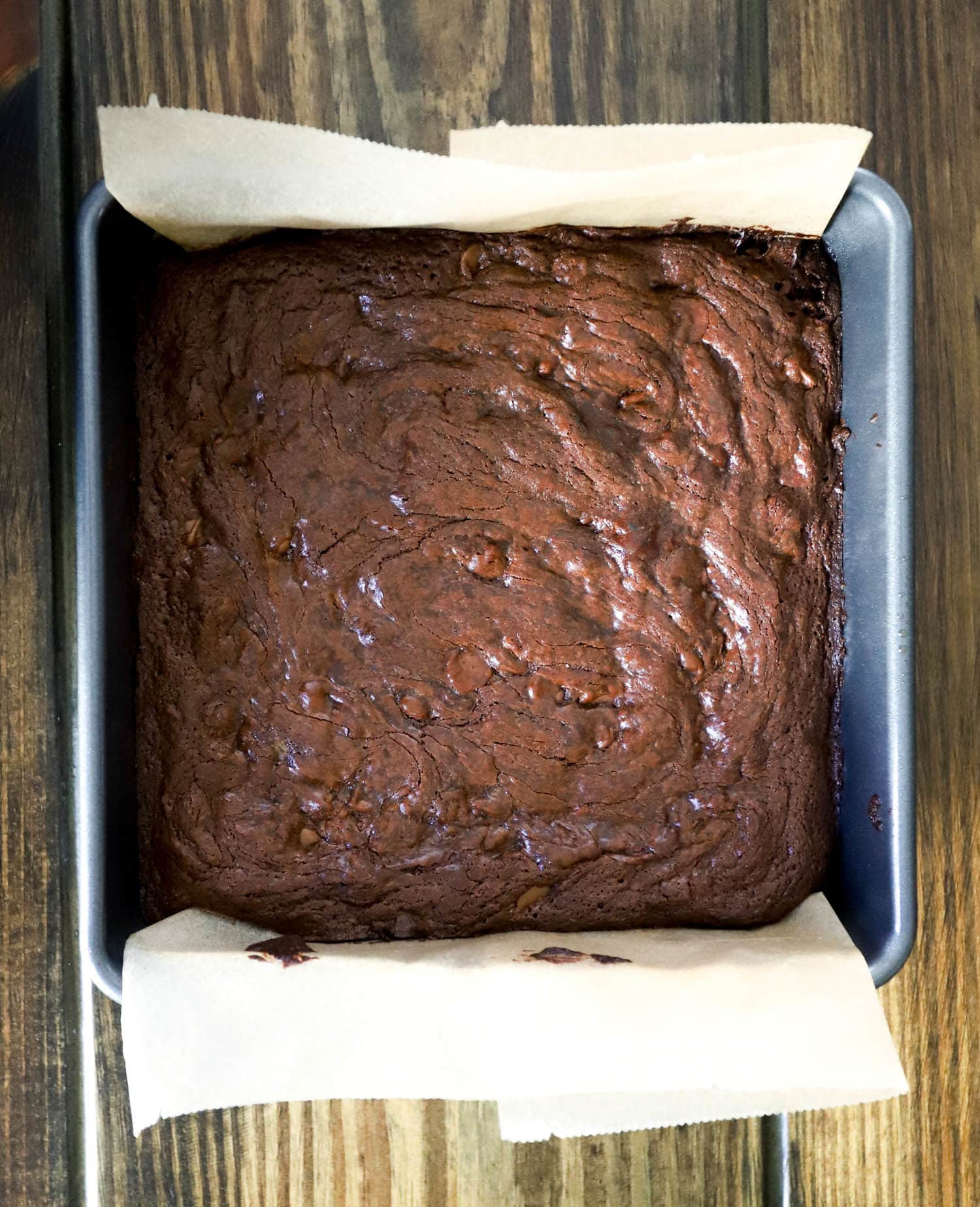 Easy and delicious one bowl brownies