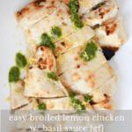 Broiled Lemon Chicken