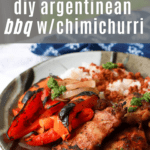 Argentinean BBQ with Chimichurri from funnyloveblog.com