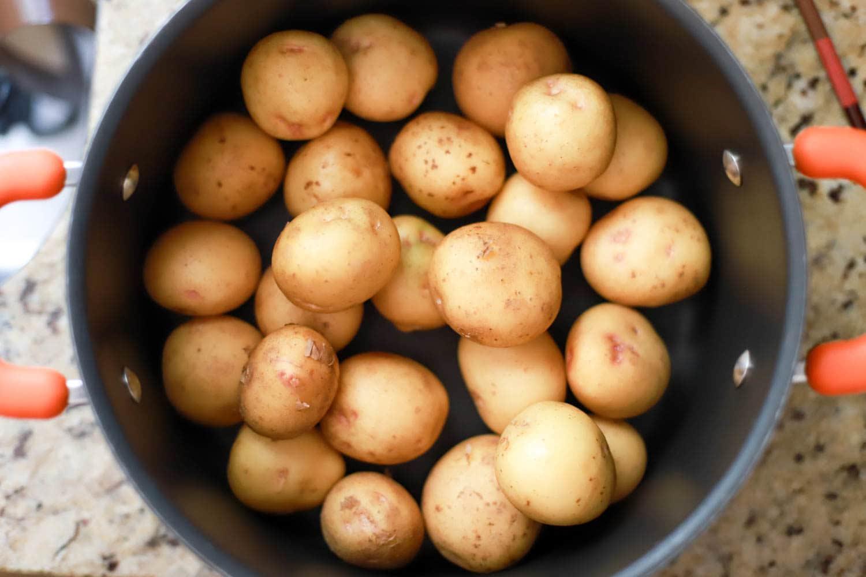 how to make smashed potatoes