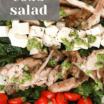 Kale Cobb Salad with Grilled Chicken