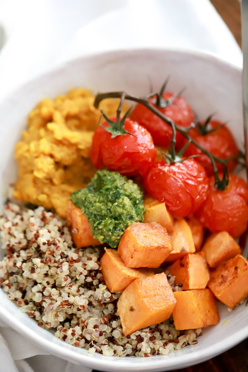 Lentil Quinoa Bowl Recipe