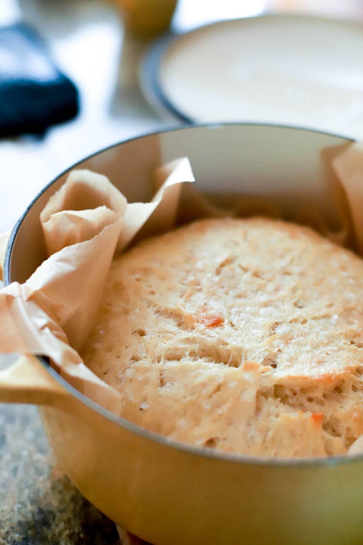 dutch oven no knead bread