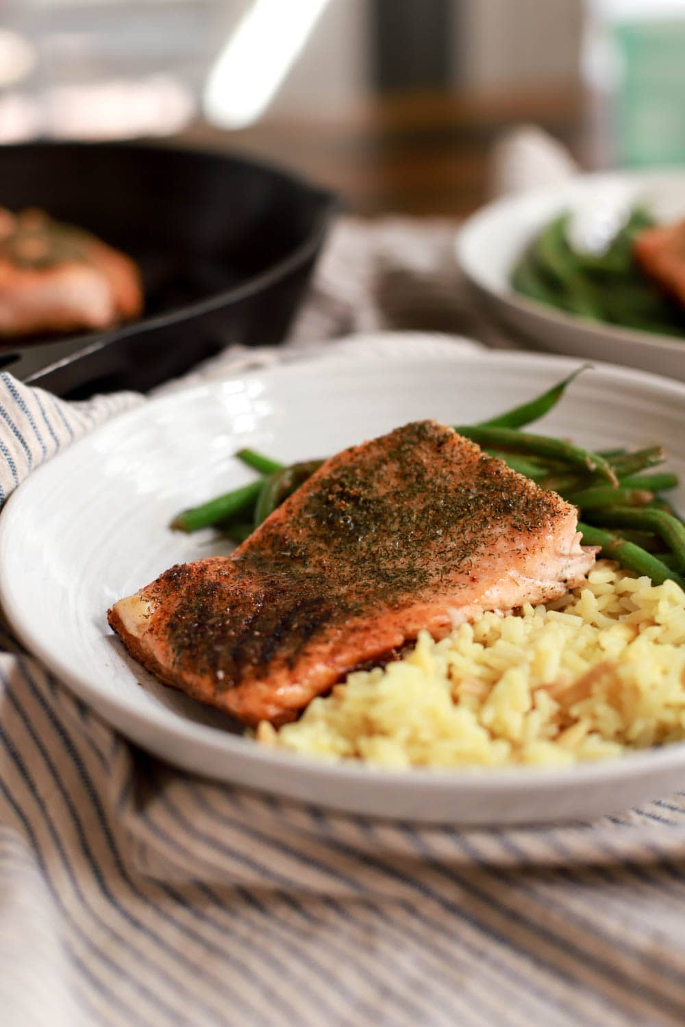 recipe for seared salmon