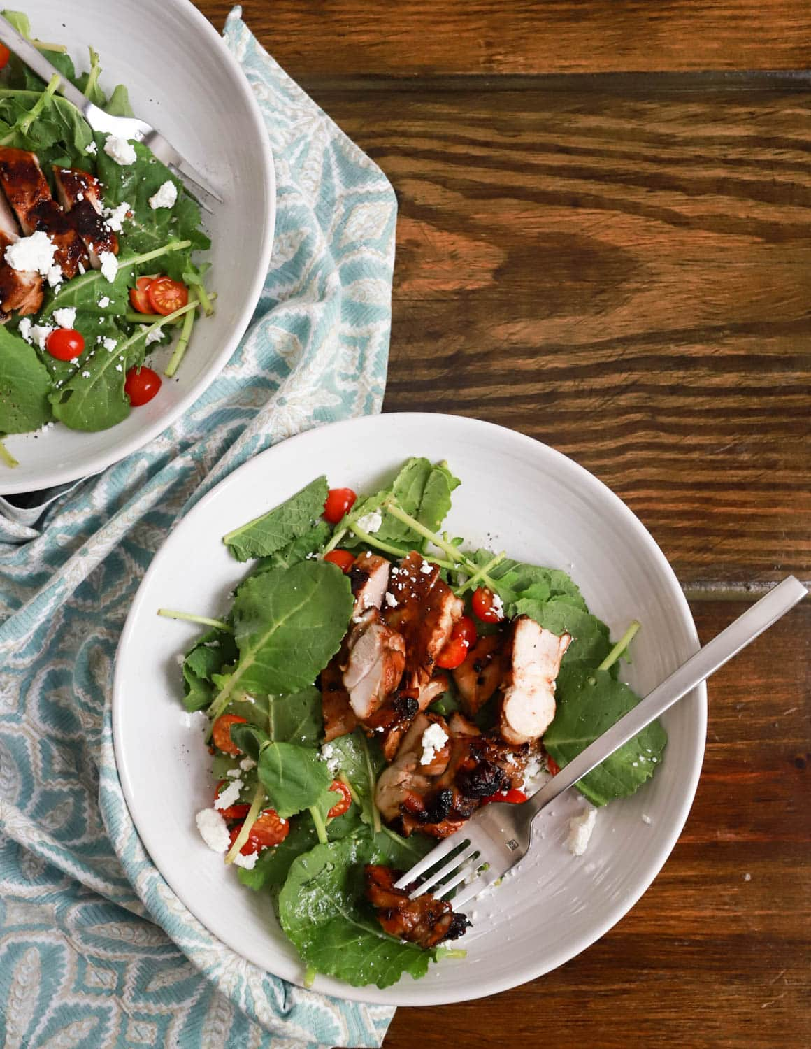how to make grilled chicken salad