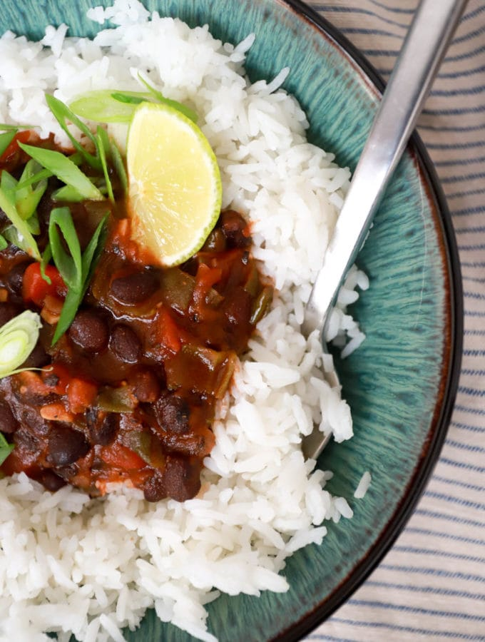 rice and beans easy recipe